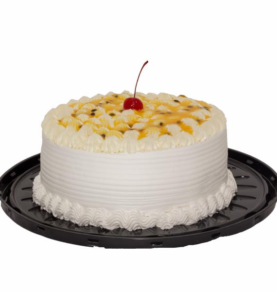 Torta de Ninho com Maracujá